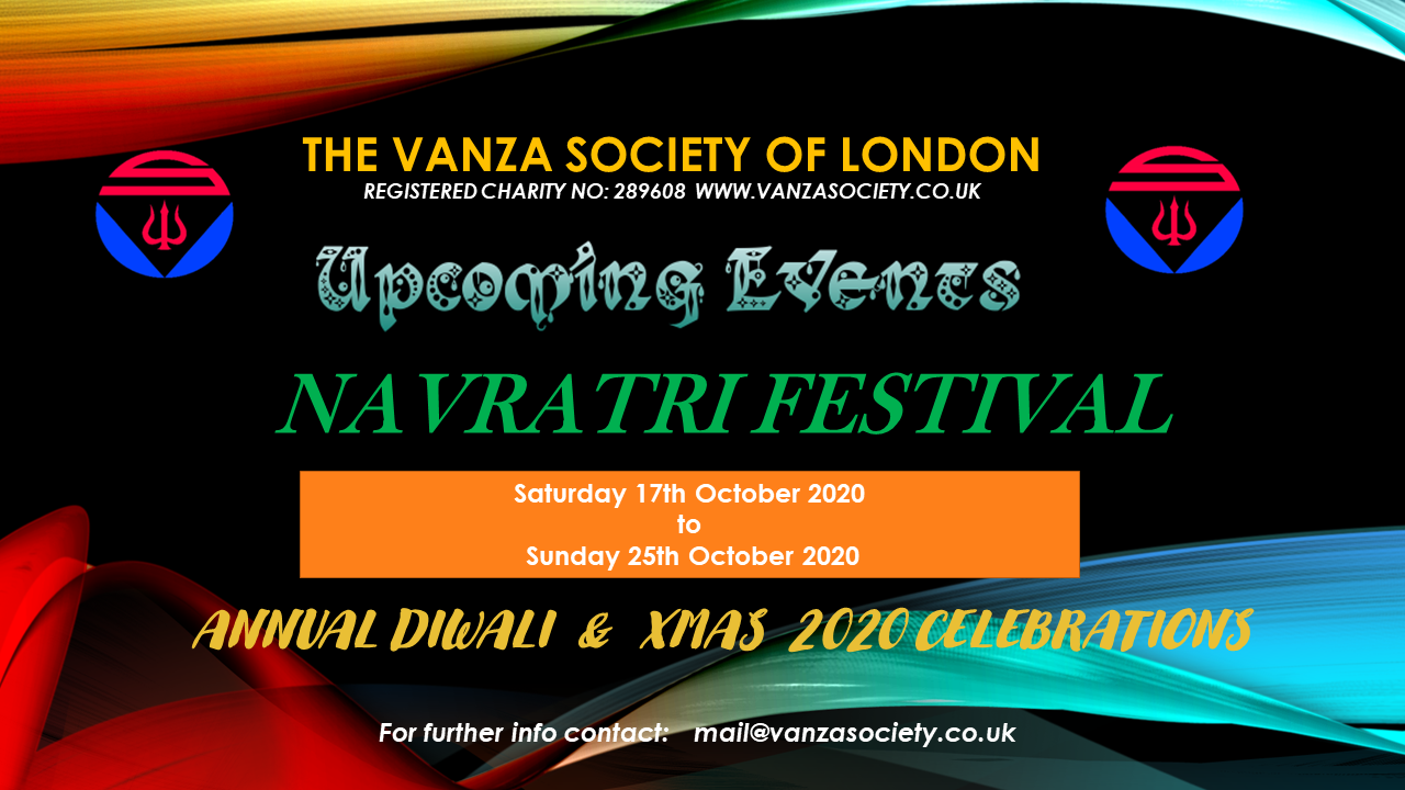 The Vanza Society of London - Navratri Festival